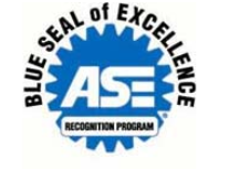 autotech Blue Seal of Excellence ASE